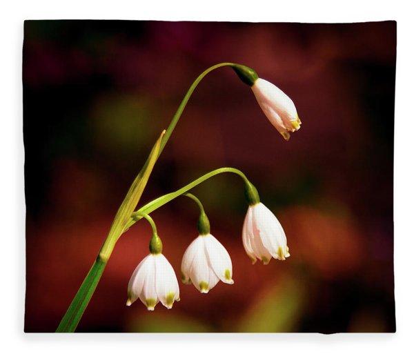Beautiful Bells Fleece Blanket