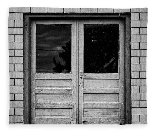 Behind The Door Fleece Blanket