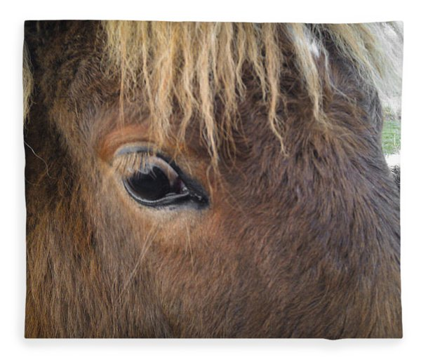 Big Eyes Fleece Blanket