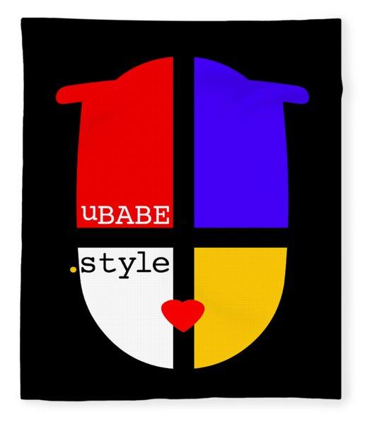 Black Style Fleece Blanket