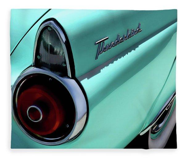 1955 T-bird Fleece Blanket
