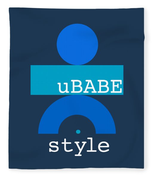 Blue Babe Fleece Blanket