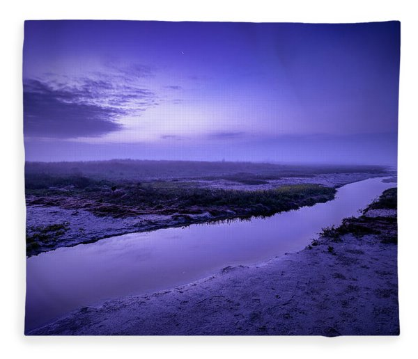 Blue Dawn Fleece Blanket
