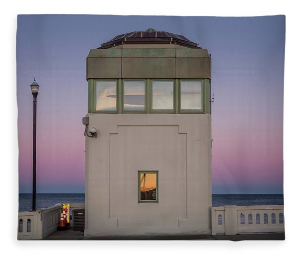 Bridge Tender's Tower Fleece Blanket
