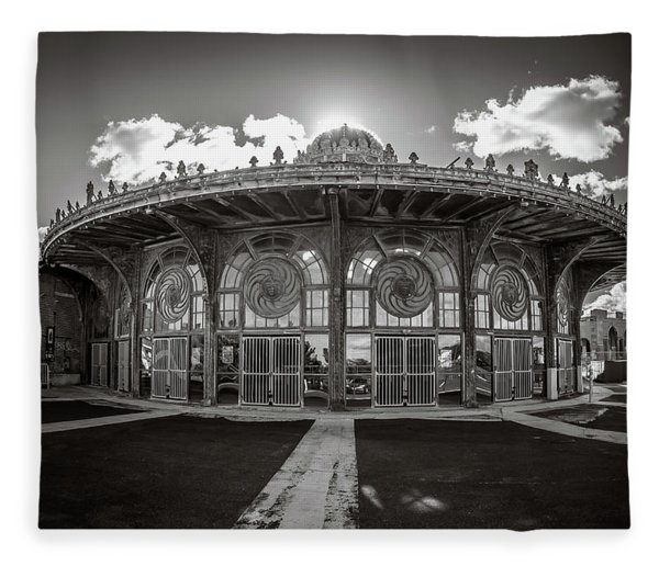 Carousel House Fleece Blanket