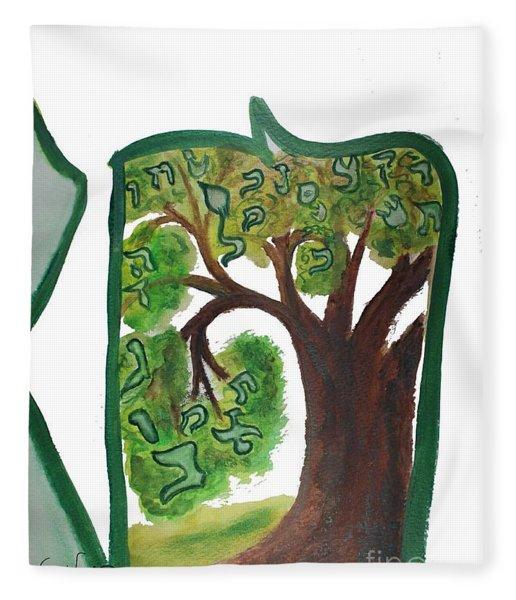 Chet, Tree Of Life  Ab21 Fleece Blanket