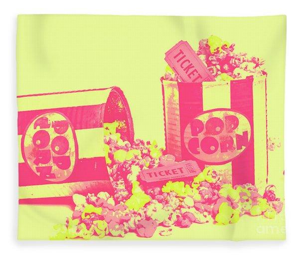 Cine Design Fleece Blanket