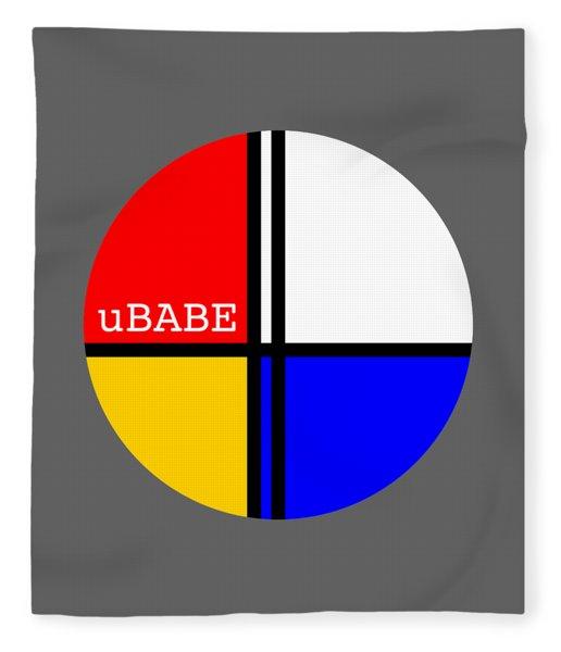 Circle Style Fleece Blanket
