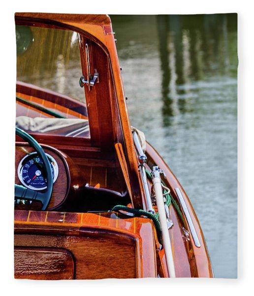 Classic Boat Fleece Blanket