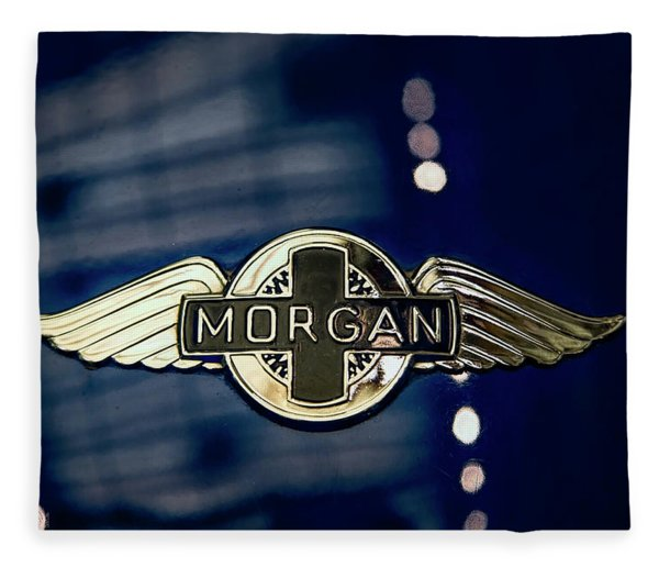 Classic Morgan Name Plate Fleece Blanket
