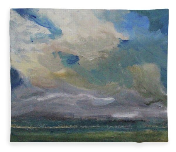 Cloud Drifting Fleece Blanket