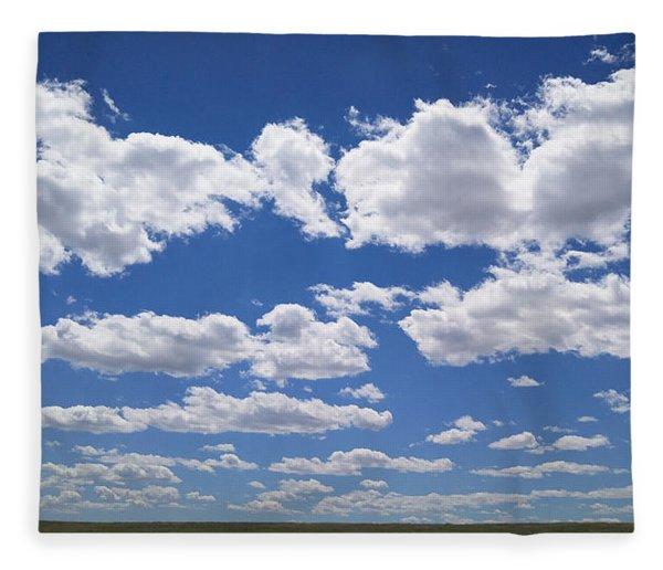 Clouds, Part 1 Fleece Blanket