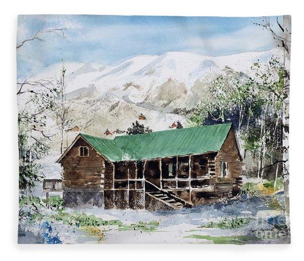 Colorado Haven Fleece Blanket
