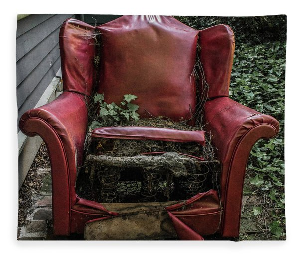 Comfy Chair Fleece Blanket