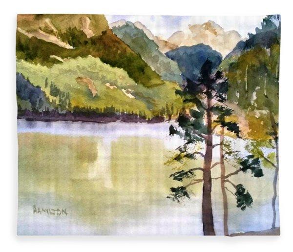 Como Lake Fleece Blanket