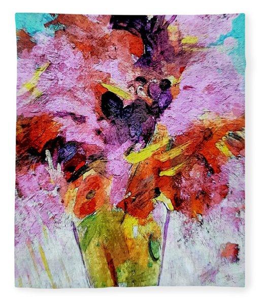 Confection Of Pink Fleece Blanket