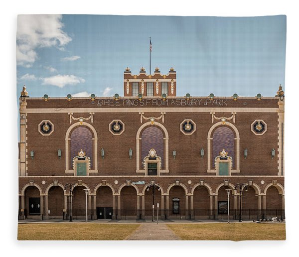 Convention Hall Fleece Blanket