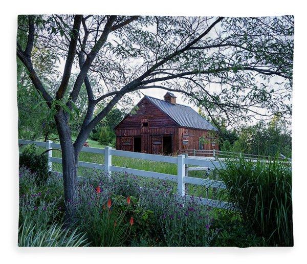 Country Memories Fleece Blanket