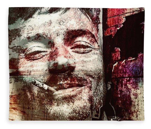Damien Rice Fleece Blanket