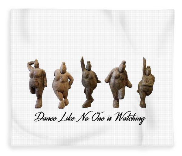 Venus - Dancing Crones Fleece Blanket