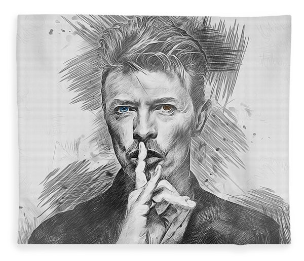 David Bowie. Fleece Blanket