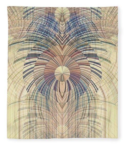 Deco Wood Fleece Blanket