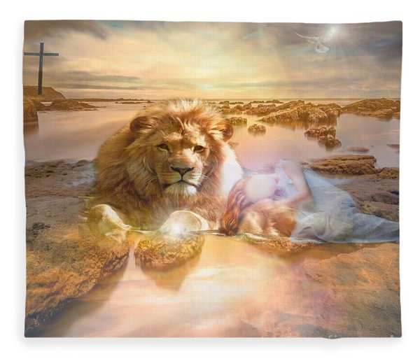 Divine Rest Fleece Blanket