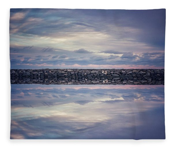 Double Exposure 2 Fleece Blanket