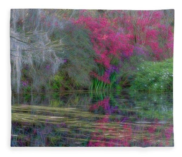 Dream Reflection Fleece Blanket