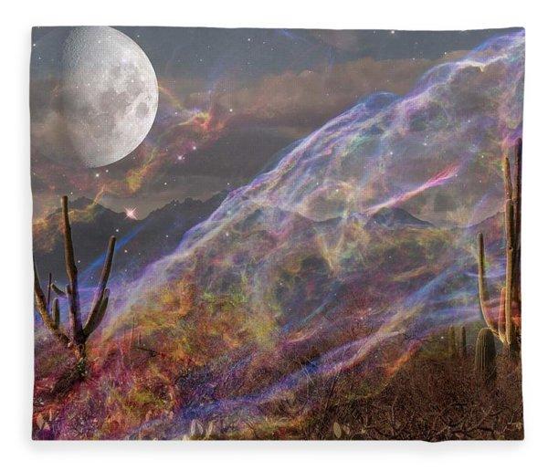 Earth Energy Fleece Blanket