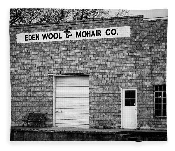 Eden Wool And Mohair Company Fleece Blanket