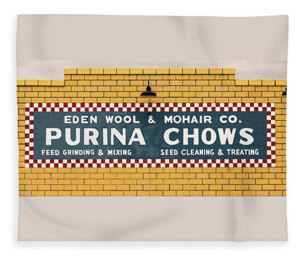 Eden Wool - Purina Chows #1 Fleece Blanket