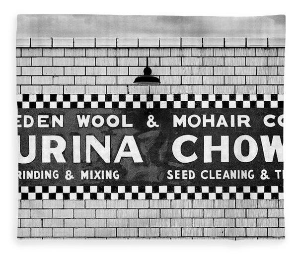Eden Wool - Purina Chows #2 Fleece Blanket
