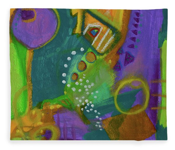 Emerald Dreams Fleece Blanket