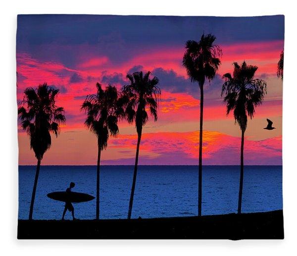 Endless Summer Fleece Blanket