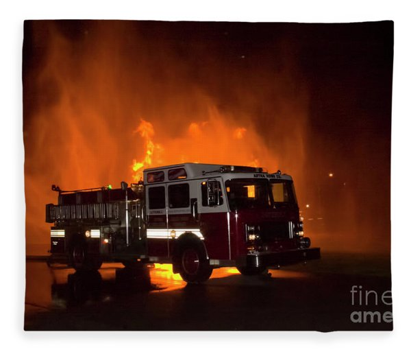 Engine 2 Fleece Blanket