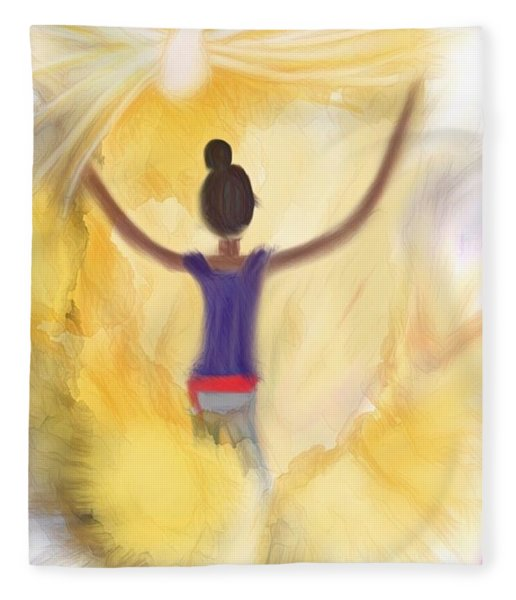 Eternal Presence Fleece Blanket