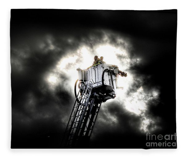 Eye In The Sky Fleece Blanket