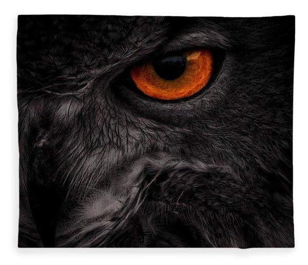 Eye See You Fleece Blanket