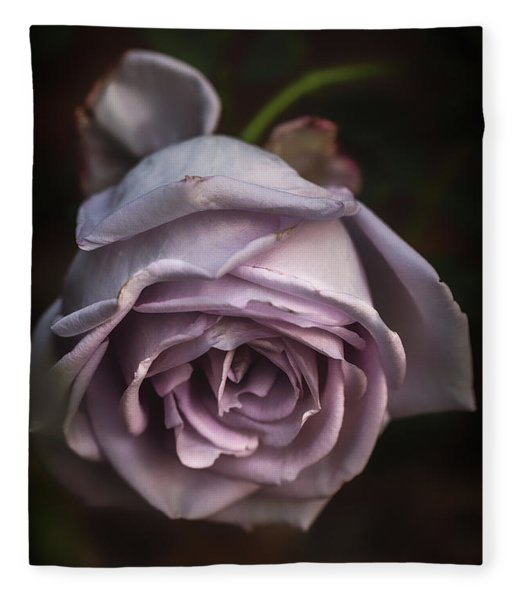 Fading Bloom Fleece Blanket