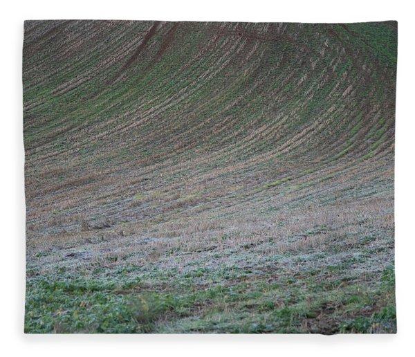 Field Patterns Fleece Blanket