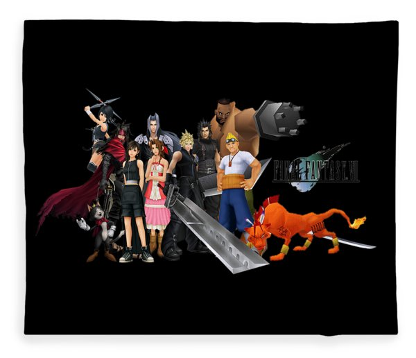 Final Fantasy Vii Fleece Blankets Pixels