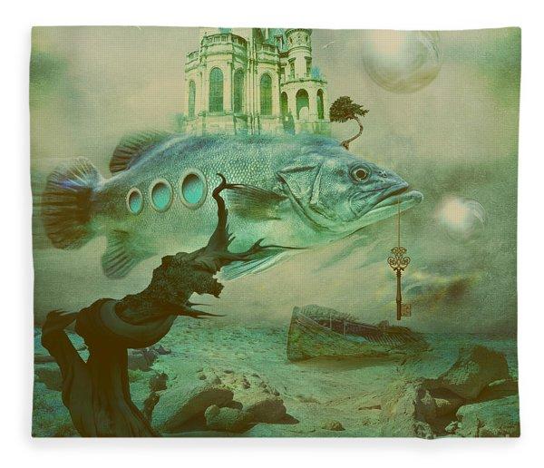Finding Captain Nemo Fleece Blanket