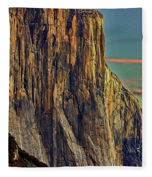 First Light - El Cap Fleece Blanket