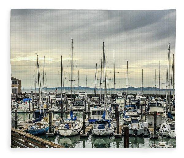 Fisherman's Wharf Fleece Blanket