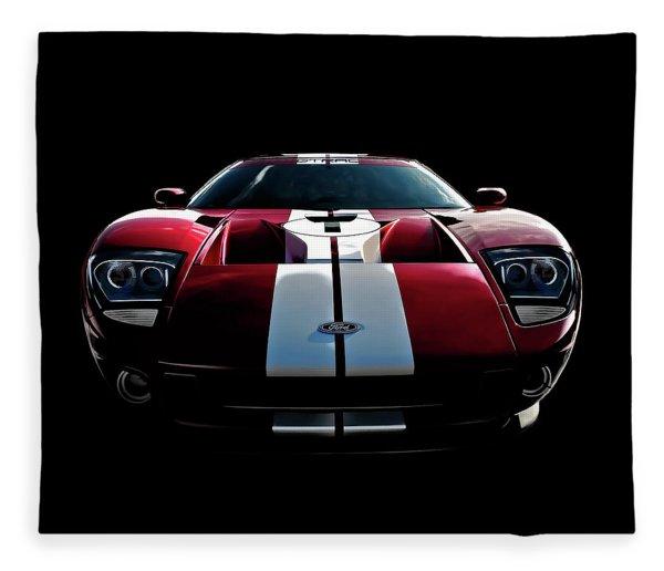 Ford Gt Fleece Blanket