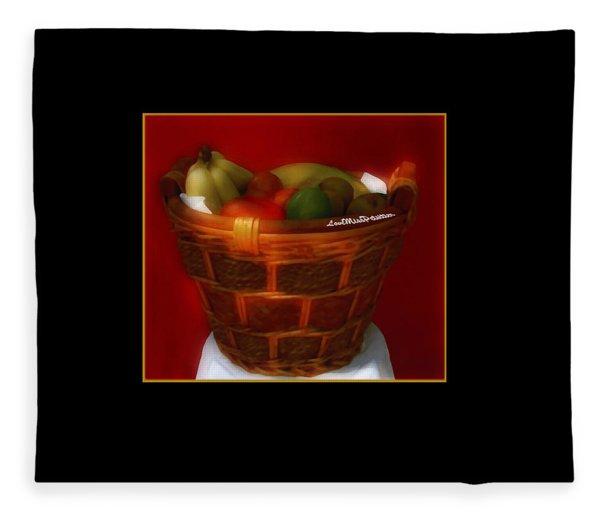 Fruit  Art 36 Fleece Blanket