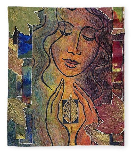 Gaia Fleece Blanket