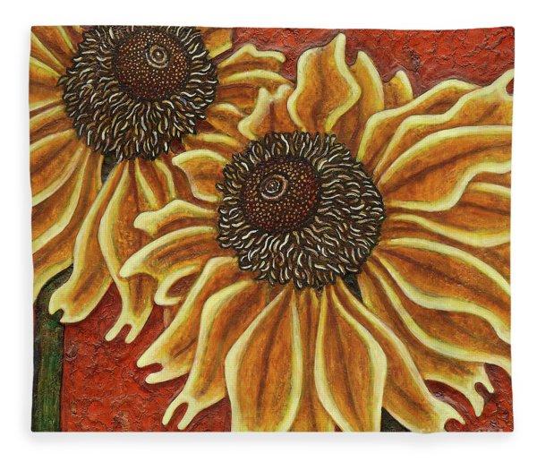 Garden Room 38 Fleece Blanket