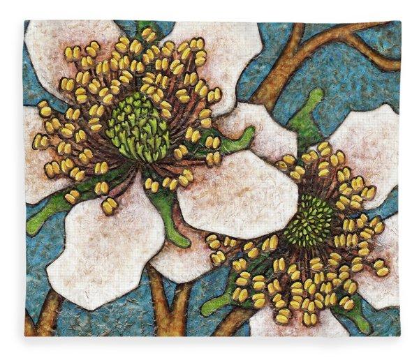 Garden Room 45 Fleece Blanket